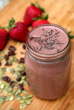 Chocolate Strawberry Banana Better-Sex Smoothie