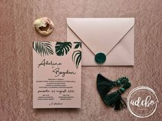 Invitatie nunta Aralia