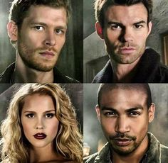 The Originals Season 1 Promos Joseph Morgan, Daniel Gillies, Claire Holt and Charles M. Davis