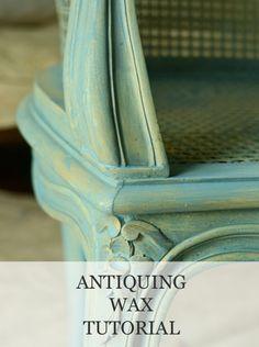 Antiquing Wax Tutorial | www.missmustardseed.com
