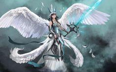Names of Warrior Angels | Angel warrior Wallpaper