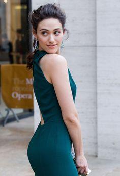 Emmy Rossum booty