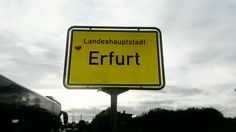 the people of Erfurt love their hometown <3