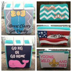 Prom painted cooler