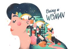 """Check out this @Behance project: """"Being a Woman"""" https://www.behance.net/gallery/37816037/Being-a-Woman"""