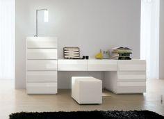 Alf Lego Custom Dresser Notte 28 Black Lacquer/Teak :: Modern ...