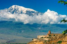 The Caucasus: hostile politics, stunning scenery and ancient churches. A view over the oft-closed border from the Khor Virap Monastery in Armenia to Turkey's Mount Ararat, itself a symbol of Armenia Beautiful World, Beautiful Places, Armenian People, Voyager Loin, Yerevan Armenia, Brunei, Countries Of The World, Natural Wonders, Places
