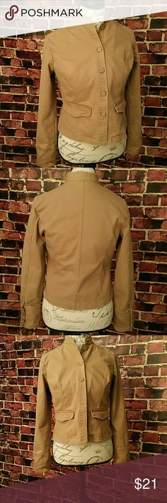 Mossimo Blazer Jacket Mossimo Blazer Jacket. 100% Cotton. Shoulder Measurements: 15 inches, Waist: 37 inches, Length: 22 inches. **Seller's Discount: 20% off 2 or more items.** Mossimo  Jackets & Coats Jean Jackets