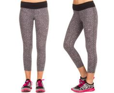 Nike Women's Epic Run Crop Capri - Grey