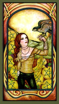 March 27 Tarot Card: Nine of Pentacles (Fenestra deck) You know how much power you have when you go it alone -- pause now to embrace the success, beauty, confidence, and freedom within you