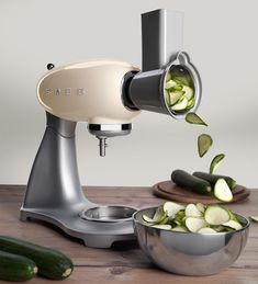 SMEG WELCOMES EXCITING NEW ACCESSORIES FOR THE STAND MIXER | Smeg PL