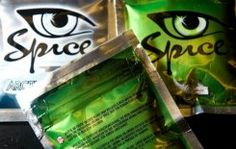 """A selection of the 'Spice' legal stimulants is displayed in a shop in north London on August 28, 2009. New drugs marketed as """"legal highs"""" and """"designer drugs"""" are emerging fast and in great numbers, and authorities are struggling to keep up, a new UN report warned"""