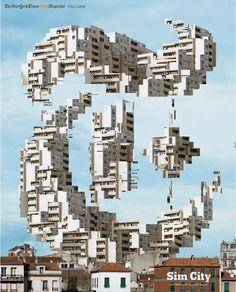 The New York Times Style Magazine 2008 Sim City-Oliver Ratsi