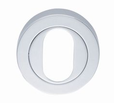 Oval Profile Escutcheon AA2   A modernistic concealed fix Oval lock profile escutcheon with a threaded screw on outer rose. The inner rose has numerous fixing points accommodating bolt through fixings as well as conventional screws. This 50mm x 10mm thick escutcheon provides an excellent accompaniment to substantial levers on rose. Available in 4 x Finishes (BN, CP, PB, SC).