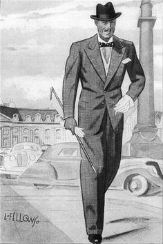 1930's men's clothes