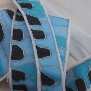 Pánská kravata. Silk Painting, Ties, Handmade, Tie Dye Outfits, Hand Made, Neck Ties, Tie, Handarbeit