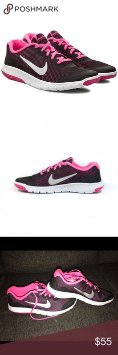 Nike flex experience 4 (GS) Nike flex experience 4 for girls NWT New without box  Size 6.5Y Nike Shoes Sneakers