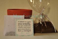 Resultado de imagen para macetas con semillas para souvenirs