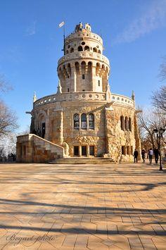 Belvedere building - Erzsébet-kilátó, Budapest, Hungary