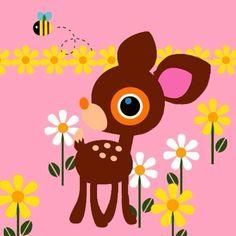 Sweet Deery Lou, classic Sanrio character <3 <3