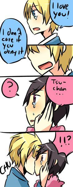Durarara!! Tsugaru X Psyche AWW SO CUTE