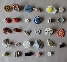 Buttons by the Inverness Clay Studio mental health club