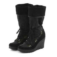 0019bbbc044 Coach Black Fall Boots  12 on EBTH Coach Boots