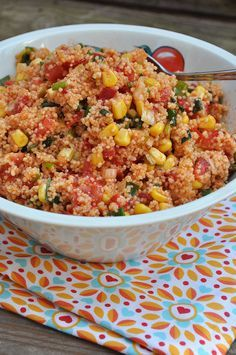 Couscous Salad - Recipes for dinner easy and healthy Grilling Recipes, Beef Recipes, Chicken Recipes, Cooking Recipes, Shrimp Recipes, Healthy Salad Recipes, Vegetarian Recipes, Vegetarian Grilling, Healthy Grilling