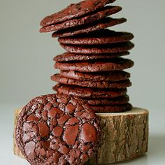 Chocolate brownie cookies Recipe on Food52 recipe on Food52