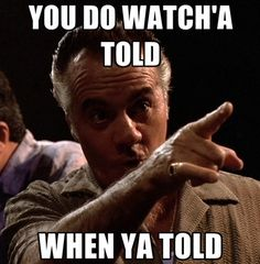 Gotta love Pauly from The Sopranos! Best Tv Series Ever, Best Tv Shows, Favorite Tv Shows, Gangster Quotes, Real Gangster, Gangster Movies, Mafia, Movie Quotes, Funny Quotes