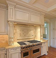 This but a little bit whiter cabinets with rosegold hardware