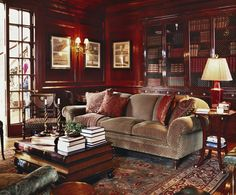 How warm and cozy! Perfect setting to curl up and read a good book!