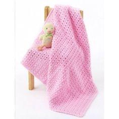 One Skein Baby Blanket ~ free pattern ᛡ