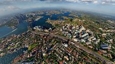 Aerial view of Sydney, Australia, another place I must see!