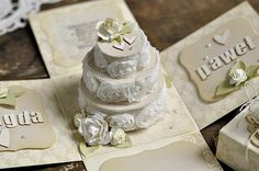 A wonderful wedding box by Ewa, more images in the Pion blog