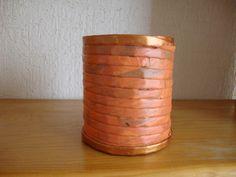 38 lapicero naranja/cobre