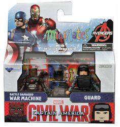 Marvel Minimates Avengers Secret Wars Jeu Complet 4 figurines Nouveau Walgreens