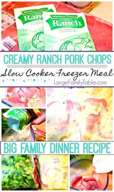 You'll end up with four Garlic & Lemon Chicken Slow Cooker Freezer Meals with about lbs of chicken each. This delightful dish is super healthy and low carb friendly. Slow Cooker Freezer Meals, Freezer Cooking, Slow Cooker Recipes, Crockpot Meals, Bulk Cooking, Agaves, Sin Gluten, Gluten Free, Large Family Meals