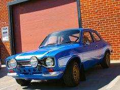 1970 Ford Escort RS2000 Front Angle - Fast & Furious 6 Car