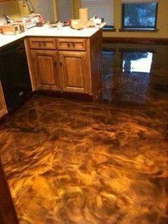 metallic floor epoxy - Google Search More