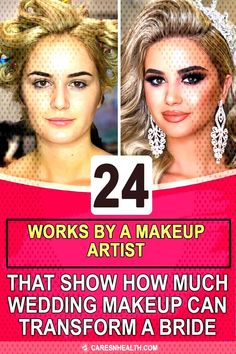 #weddingmakeupartist #transform #wedding #makeup #artist #works #bride #that #show #much #how #can #24 #by #a 24 Works By A Ma... Wedding Makeup Artist, It Works, Bride, Wedding Bride, Bridal, Nailed It, The Bride, Brides