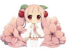 Chibi Sakura Miku by DAV-19.deviantart.com