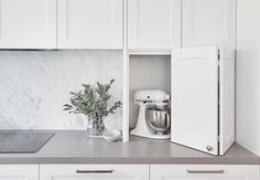 When designing kitchens with clients we discuss what appliances they have, how & when they use them & what needs to be at arms length. Kitchen Inspirations, Hidden Kitchen, Kitchen Appliance Storage, Interior Architecture, Kitchen Remodel, Hamptons Kitchen, Home Kitchens, Kitchen Styling, Kitchen Renovation