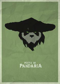 World of Warcraft - Minimal Poster on Behance