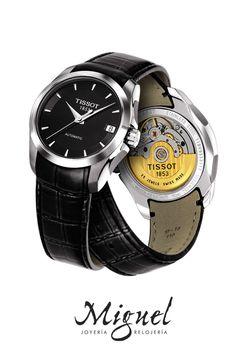 8cc3dd906a3f El diseño sencillo y atemporal de los relojes Tissot Couturier.