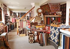 Original quilt designs in reproduction fabrics and wool make Pieceful Gathering Quilt Shop in Fox River Grove, Illinois, a charmer.