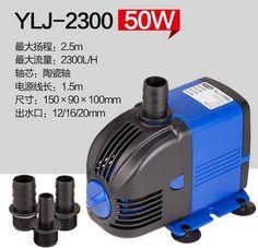 43.00$  Buy here - http://alivbm.shopchina.info/1/go.php?t=32808378343 - Fast Shipping 220V YLJ-2300 2300L/h 50W Submersible Water Pump Aquarium Fountain Fish Tank power saving copper wire  #buyininternet