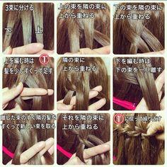 新しい編み込み!海外で話題の髪型『ウォーターフォール』が可愛い♡にて紹介している画像