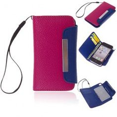 Top Kalaideng Brand Luxury Hand-made Leather Case Cover for iPhone 4/4S (Plum)