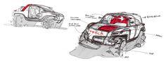 Tesla Allterrain Concept | Sponsored Thesis on Behance